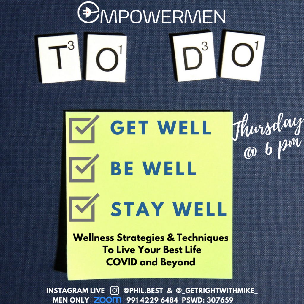 Get well - be well - stay well - Complete wellness