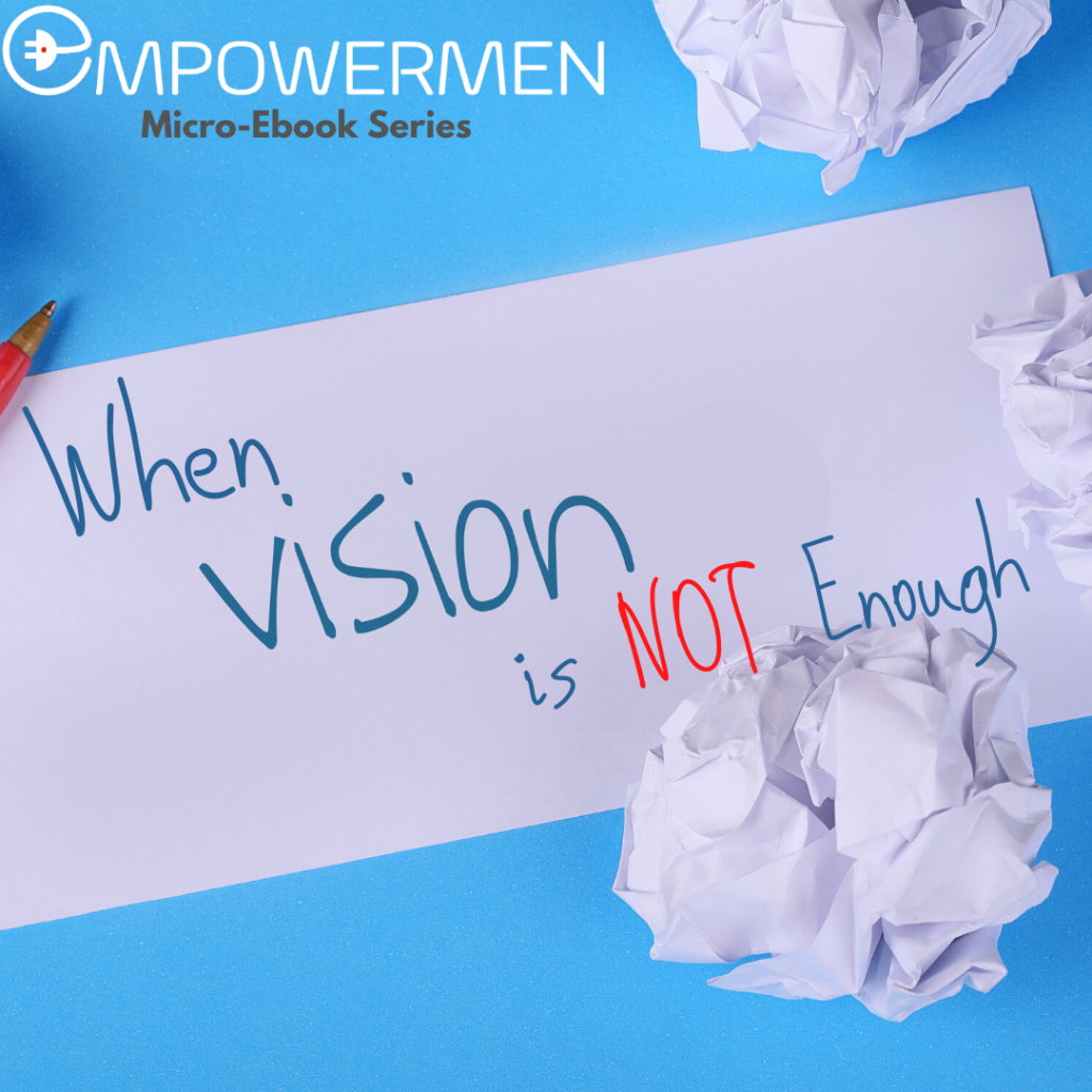 When having vision is not enough cover