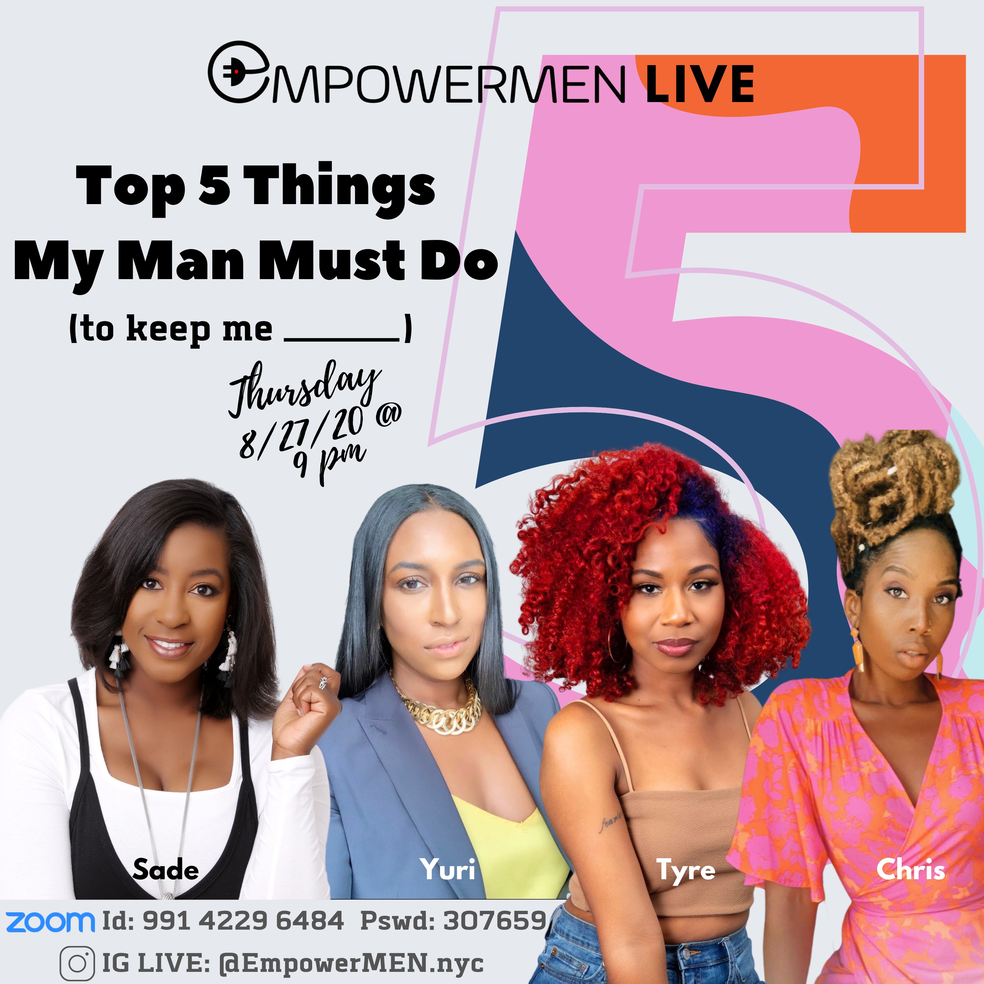 What my man must do - woman panel | PowerUP Series Zoom Meeting